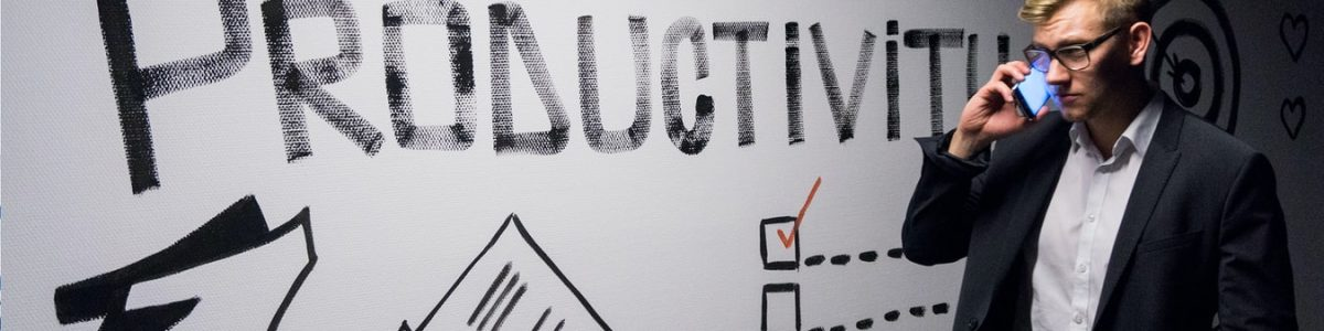 Productivity checklist on a wall
